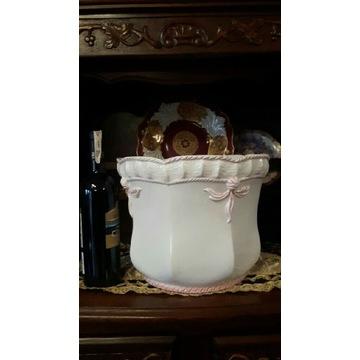 Osłonka donica ceramika