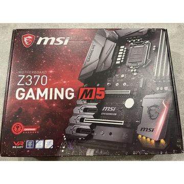 i5 8600K  MSI Z370 GAMING M5