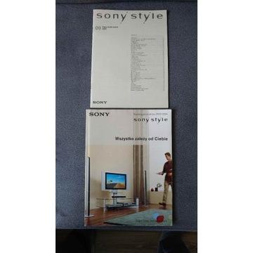 Katalog Sony 2003/2004