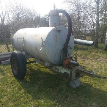 Beczkowóz, Szambiarka Krone 3500L