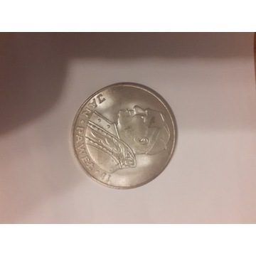 Moneta srebrna Jan Pawel II