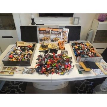 LEGO +COBI +BIONICLE +CLEMENTONI mix klocków7,1kg