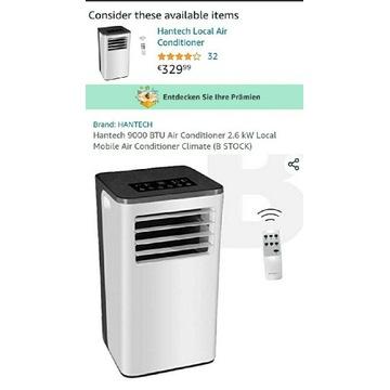 Klimatyzator hantech nowy super cena