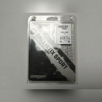 Pamięć Ram 16GBDDR4 Crucial 2400MHz CL16 Ballistix