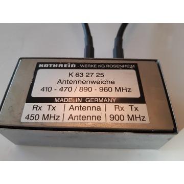 Duplexer duplekser KATHREIN 410-470/ 890-960 MHz