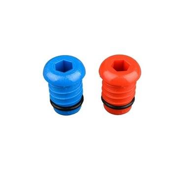 4 Zestawy po2 korki do prób szczelności 20mm x2 mm