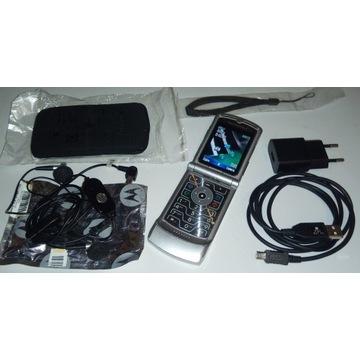 Motorola Razr V3 - mega zestaw komplet -