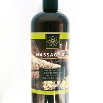 Olejek cytrusowo-ziołowy do masażu mega duży650ml