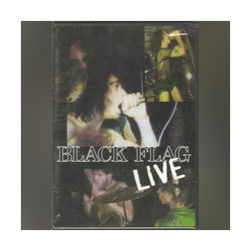 Black Flag Live DVD folia