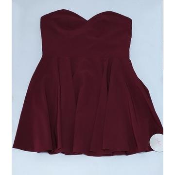 Sukienka bez ramiączek - XL