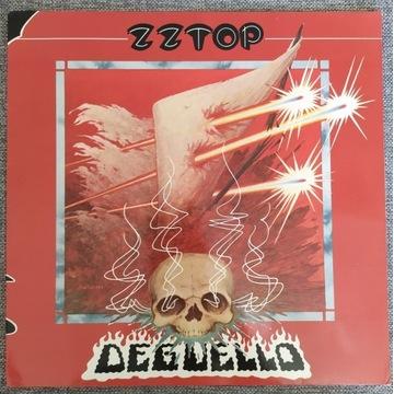 ZZ TOP DEGUELLO winyl EX