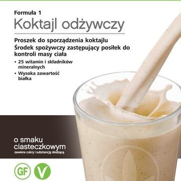 (5%) Herbalife Koktajl ciasteczkowy 550g