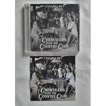Chemtrails over...CD Lana Del Rey AUTOGRAF signed