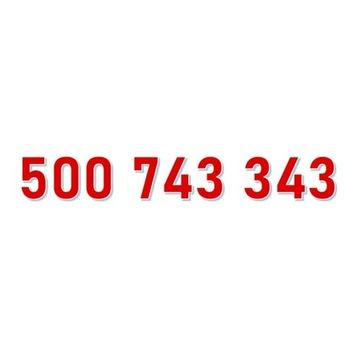 500 743 343 STARTER ORANGE ŁATWY ZŁOTY NUMER