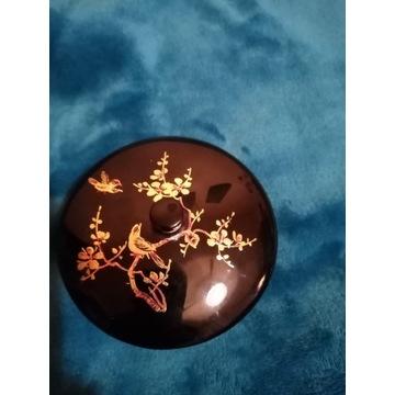 Puzderko laka, ręcznie malowana