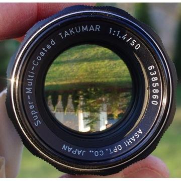 Super-Multi-Coated Takumar 50 mm 1:1.4 M42