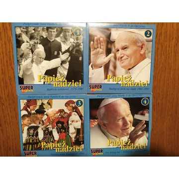 Płyta CD. Pielgrzymki JP II do ojczyzny. Cześć 1-4