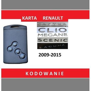 Karta Renault  Megane 3  Laguna 3 HF z Kodowaniem