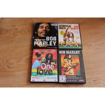 Reggae Bob Marley DVD Zestaw Africa Unite One Love