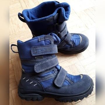 Buty Superfit zimowe r 28 wkł. mierzona 18,5 cm