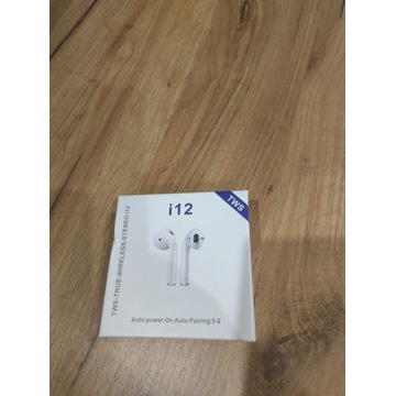 Słuchawki i12 TWS