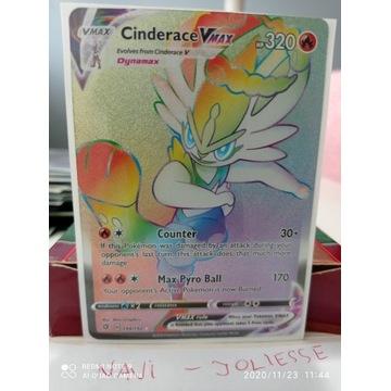 Cinderace VMax Full Rainbow Secret 194/192 M/NM
