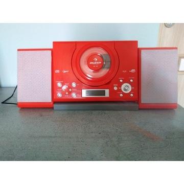 Wieża Stereo Auna Czerwona