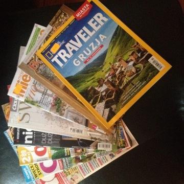 Pakiet różnych gazet.