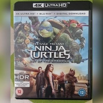 Wojownicze żółwie Ninja 4K UHD/BD