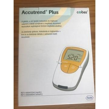 Accutrend Plus do oznacznia glukozy, cholesterolu
