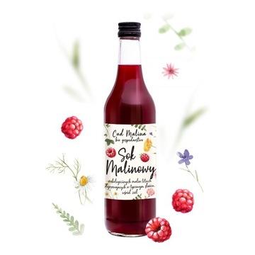 Cud Malina - sok z  malin letnich ekologicznych 4