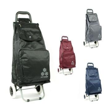 Wózek torba na zakupy na kółkach składany termo