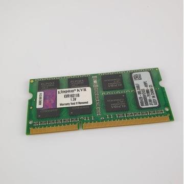 KINGSTON 8GB PC3-12800 CL11 KVR16S11/8