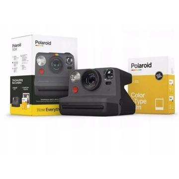 Nowy Aparat Natychmiastowy Polaroid Now + Wkłady