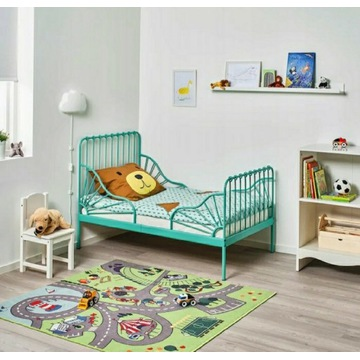 Ikea Minnen 80x200 cm NOWE Regulowane Turkusowe