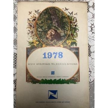 Kalendarz 1987 rok