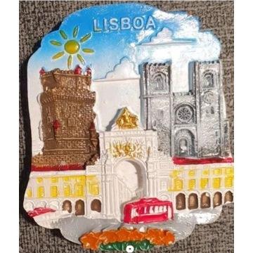 Magnes Lizbona Magnes na lodówkę Portugalia