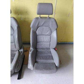Fotel Pasażera Audi A6 C6 A4 B6 B7 Full Elektryka!