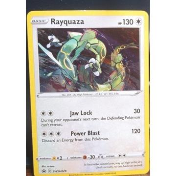Rayquaza SWSH029 Black Star Promo Holo rare