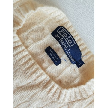 Sweter Ralph Lauren 100% kaszmir