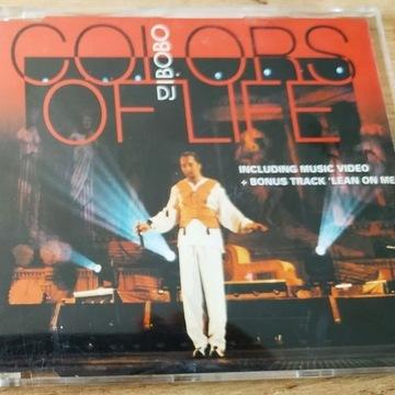 DJ BOBO COLORS OF LIFE singel kolekcjonerski