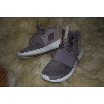 Różowe buty Adidas tubular 38 2/3 guma oryginał