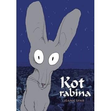 Komiks - KOT RABINA wydanie zbiorcze. Jak NOWY!