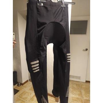Spodnie rowerowe L z wkładką w kroku