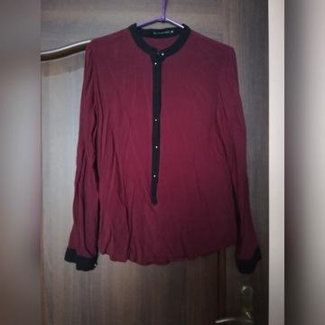 Elegancka bordowa bluzka CARRY rozm. M