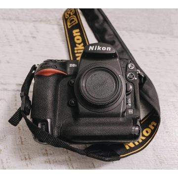 Nikon D3s + ład + karty + 2 aku + pasek