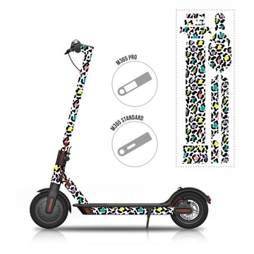 Stickery na hulajnogę MijaM365/PRO - ColorPanther
