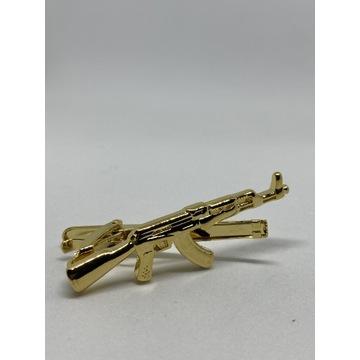 Spinki do krawata AK 47 karabin