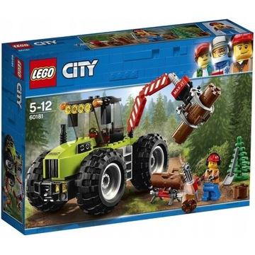 LEGO CITY 60181 TRAKTOR LEŚNY - CIĄGNIK