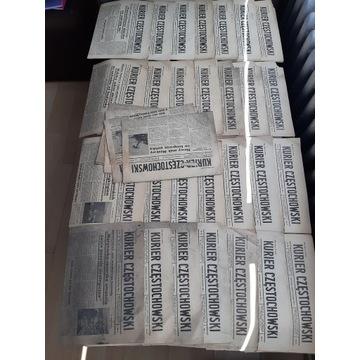 Kurier Częstochowski zabytkowe gazety 1943